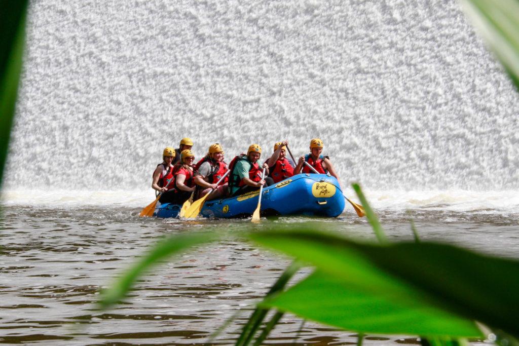 Rafting em Três Coroas.